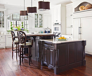 Delicieux Probably The Most Popular Decorating Style In A Kitchen Is A Classic,  Traditional Look. Its Hallmarks Are Cabinet Doors With Raised Panels,  Oiled Bronze ...