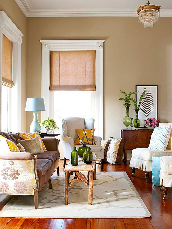 What Goes With Beige Walls: paint colors that go with beige