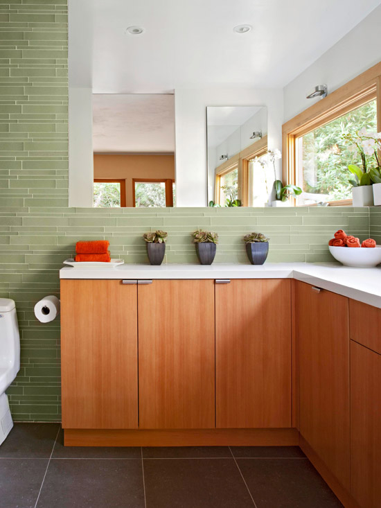Ways To Use Tile In Your Bathroom Better Homes And Gardens