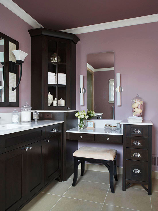 Standard Bathroom Vanity Height: Bathroom Makeup Vanity Ideas