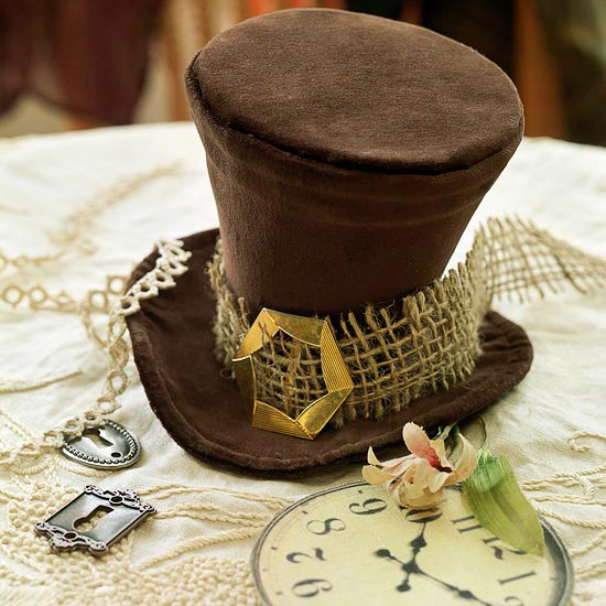 Wacky White Rabbit's Hat