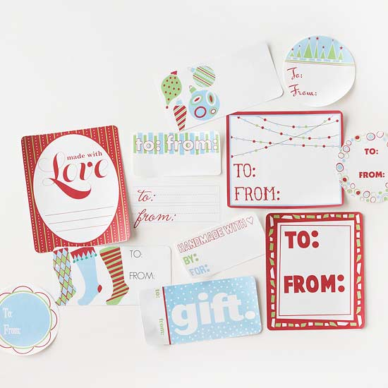 Free Printable Christmas Gift Labels from Better Homes & Gardens ...