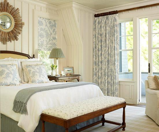 Charming Blue Bedroom