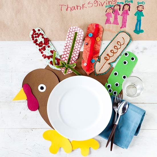 Thanksgiving turkey crafts for Fall decorating ideas with construction paper
