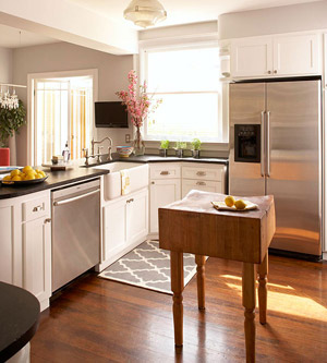 Attrayant Small Space Kitchen Island Ideas