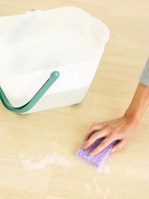 laminate floor care instructions