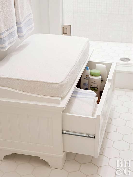 towel display ideas for bathrooms. Black Bedroom Furniture Sets. Home Design Ideas