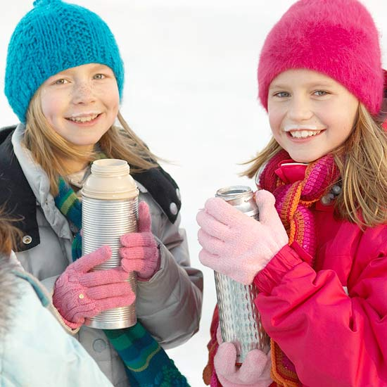 Protect Kids from Frostbite
