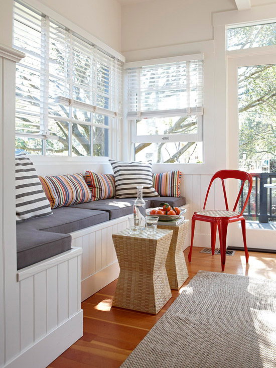 Ordinary Window Seating Ideas Part - 2: Better Homes And Gardens