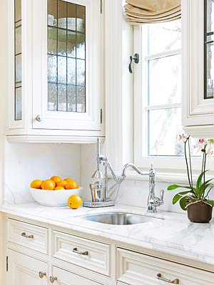 Marble Kitchen Countertops - Better Homes And Gardens - Bhg.Com