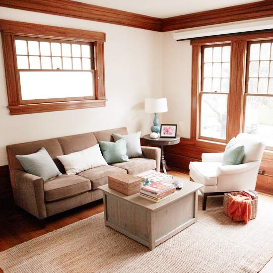 Living Room Makeover for Less