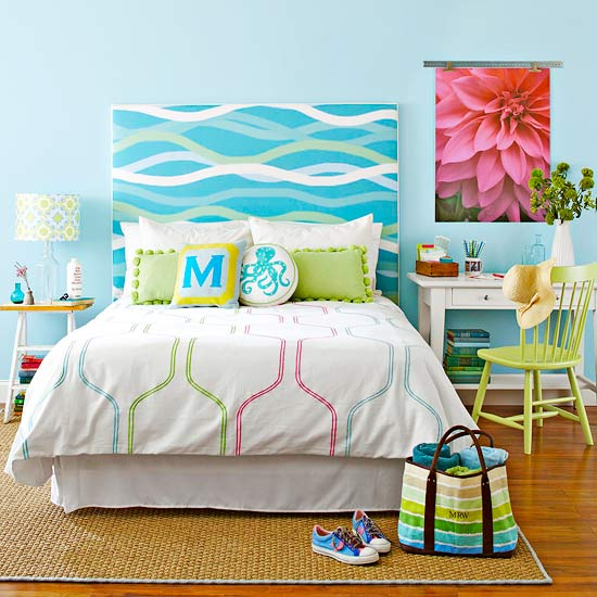 How To: Fabric-Covered Headboard - Better Homes & Gardens ...