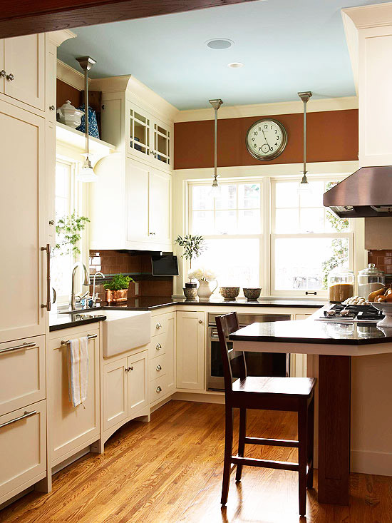 Small Kitchen Remodeling - Better Homes and Gardens - BHG.com on Small Kitchen Renovation  id=11427