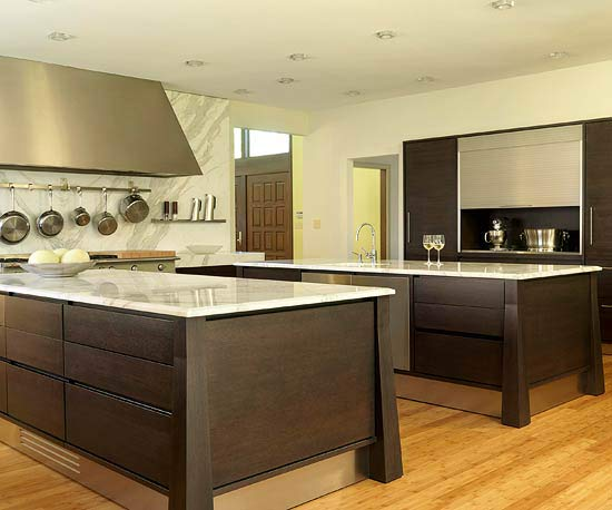 double kitchen islands island kitchens 11508
