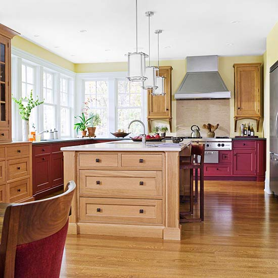 Wood Kitchen Cabinet Tips & Ideas