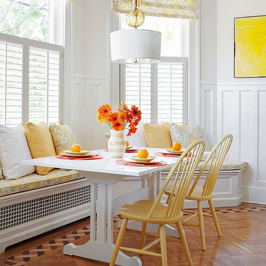 Bright & Cheery Breakfast Room