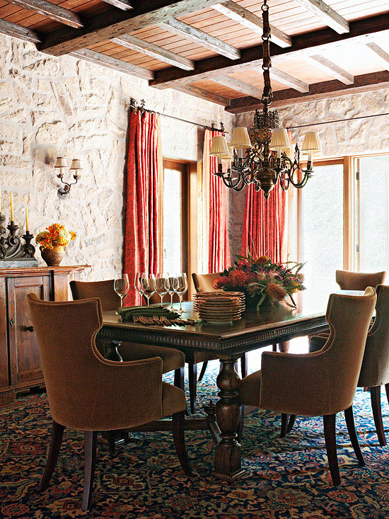 Tuscan Decorating Better Homes Gardens