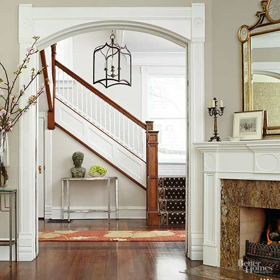 Stairway railing ideas - Give home signature look elegant balustrades ...