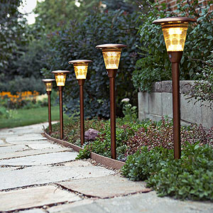 Learn more about solar landscape lighting a must have for any size landscape outdoor lighting offers safety for exterior doors stairs and walkways and can be a nice accent for hardscaping and aloadofball Gallery