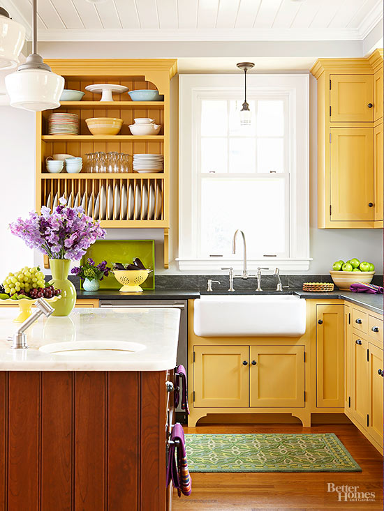 Genial Many Homeowners Choose A Single Color For Their Kitchen Cabinets    And  Thatu0027s A Solution That Works Perfectly Well. But Two Tone Cabinets Can Make  A Visual ...