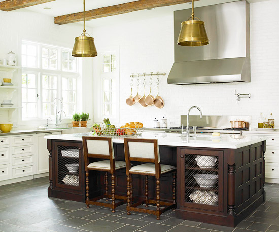 french country style kitchen. Country French style embraces the past and layers in centuries of different  styles Open shelves chicken wire inserts island cabinet doors Kitchen Ideas