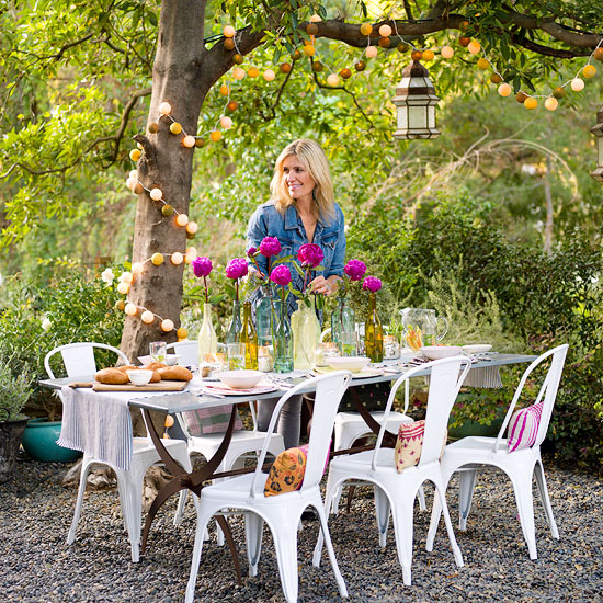 Outdoor Party Idea An Alfresco Affair