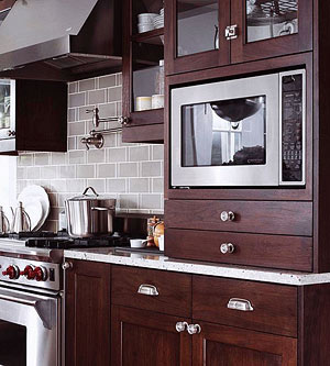 Ordinaire A Countertop Microwave Eats Up Valuable Workspace. Reclaim Some Of Your  Lost Countertop Realty By Integrating Your Microwave. First, Consider The  Available ...