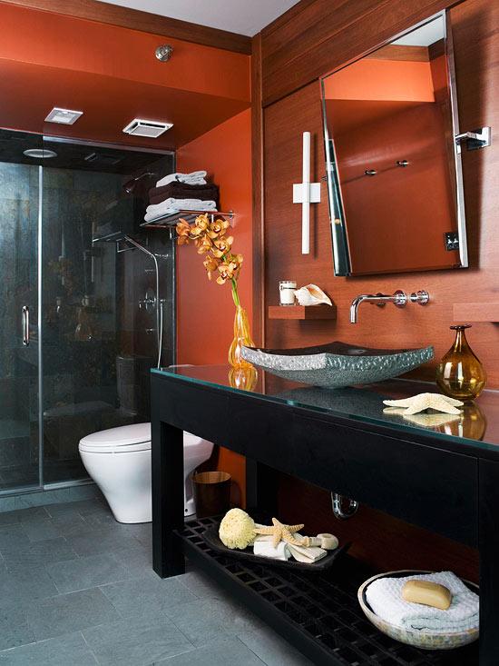 Small Bathroom Remodeling: Modern & Masculine