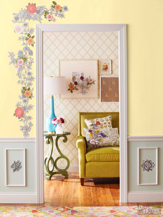 Decoupage Home Decor Projects Better Homes And Gardens