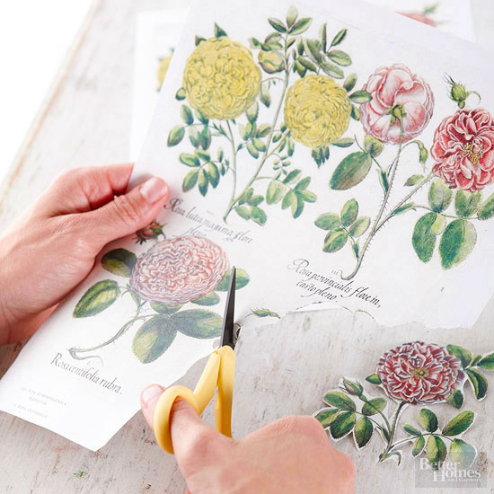 Do It Yourself Home Decorating Ideas: Decoupage Home Decor Projects