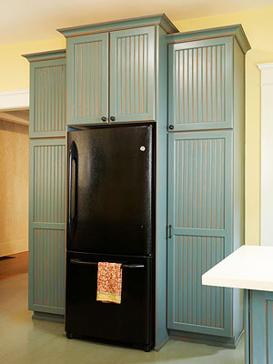 Built In Refrigerator Better Homes And Gardens