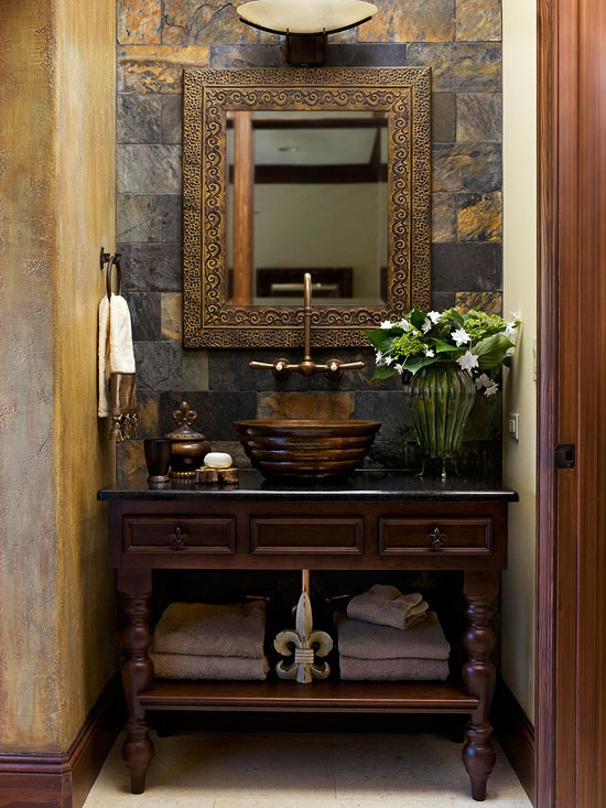 Small Bathroom Ideas: Traditional-Style Bathrooms