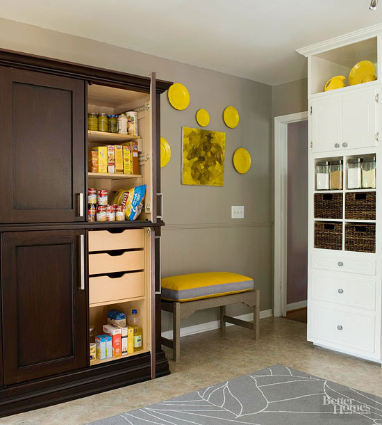 Built In Kitchen Pantry Ideas: Kitchen Pantry Design Ideas