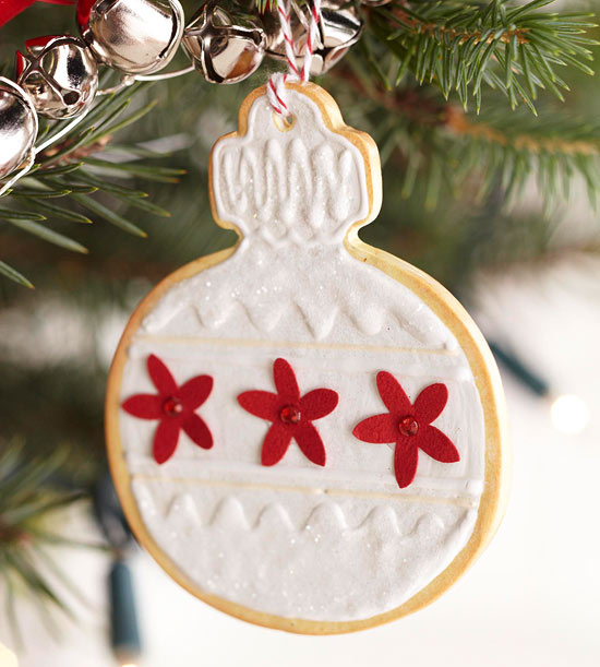 Clay Christmas Cookie Ornaments