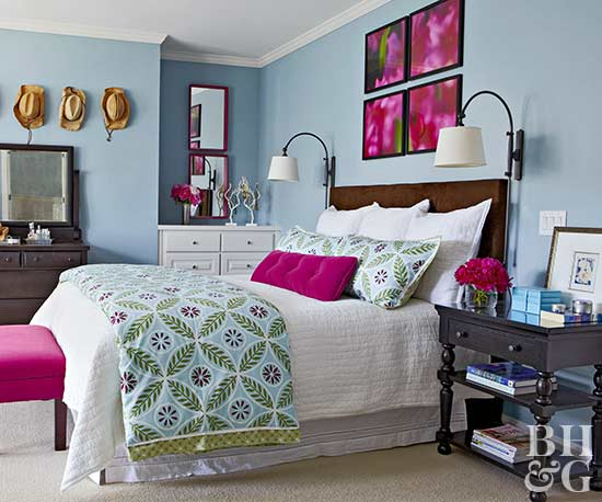 blue bedroom paint ideas. Choose a blue wall color that fits your sleeping waking preferences  If you re morning person who s itching to start the day paint walls turquoise Bedroom Color Ideas Blue