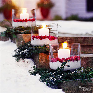 tips for decorating with christmas outdoor ornaments - How To Decorate Outdoor Stairs For Christmas