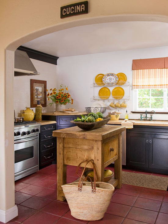 Tuscan Kitchen Makeover