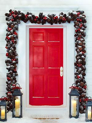 Dazzling Winter Doors That Welcome The Season
