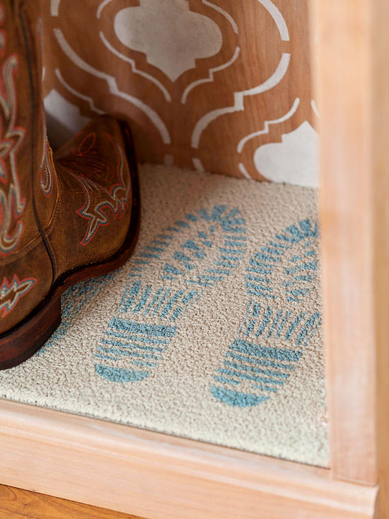 DIY Tread Stencil Download