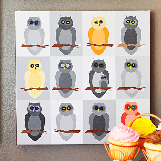 DIY Owl Artwork Download