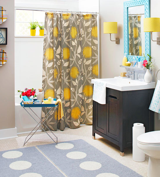 decorating a bathroom on a budget - Bathroom Accessories Color Ideas