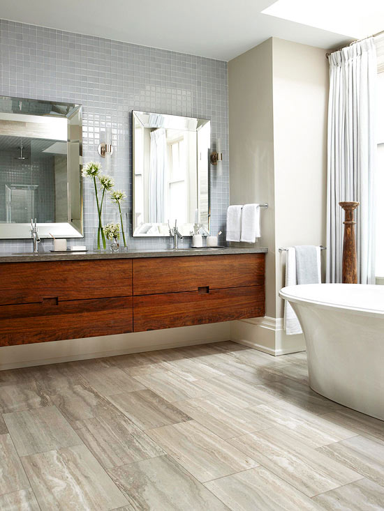 our favorite bathroom upgrades - Flooring Bathroom Ideas