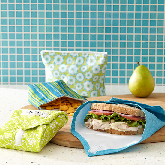 How To Make Reusable Snack Bags Amp Sandwich Wraps