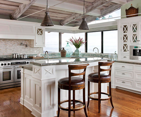 coastal inspired kitchens an inspired kitchen makeover 2271