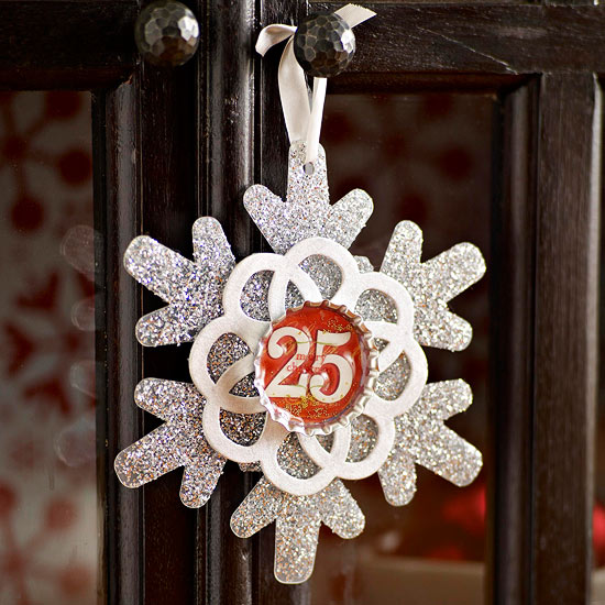 Easy-to-Make Snowflake Ornaments