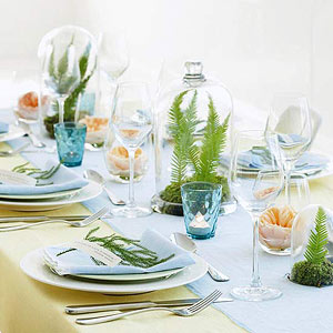 Easter decorating easy easter centerpieces and table settings negle Image collections