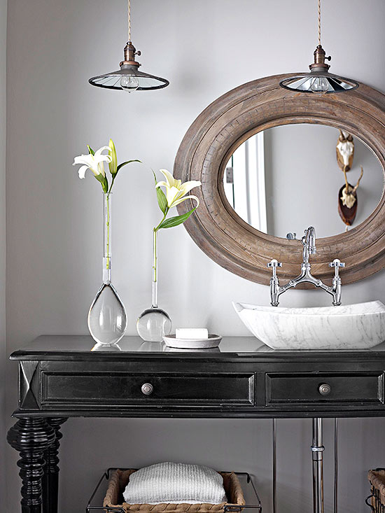 Powder Room Vanities