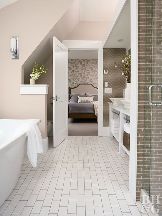 Best bathroom flooring options Best flooring options for small bathrooms