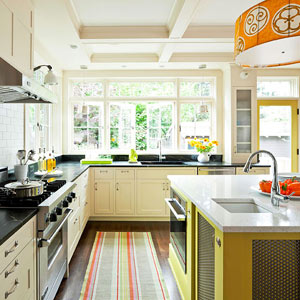 Mix And Match Countertops Are An Emerging Trend. Put Butcher Block On The  Island And Marble Everywhere Else Or White Granite On The Exterior  Countertops And ...