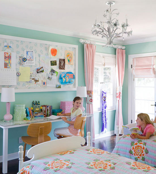 Shared Kids Room Decor: Shared Bedroom Ideas For Small Rooms